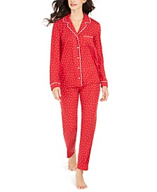 Women's Printed Pajamas Set, Created For Macy's