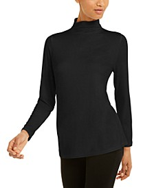 Mock-Neck Top, Created For Macy's