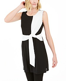 Colorblocked Sleeveless Tunic, Created For Macy's