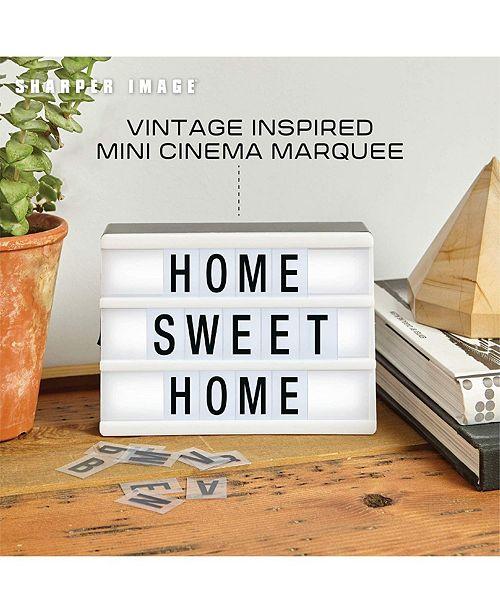 Sharper Image Light Box Cinema