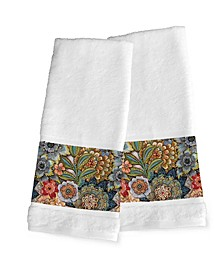 Boho Bouquet 2-Pc. Hand Towel Set