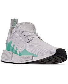 Boys NMD R1 Runner Casual Sneakers from Finish Line