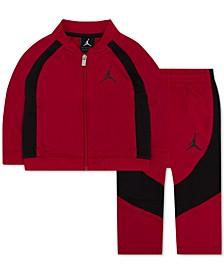2-Pc. Colorblocked Active Jacket & Pants Set, Little Boys