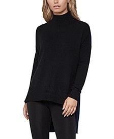 High-Low Turtleneck Sweater
