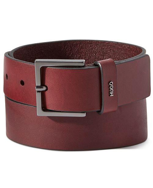 Hugo Boss HUGO Men's Giove Leather Belt