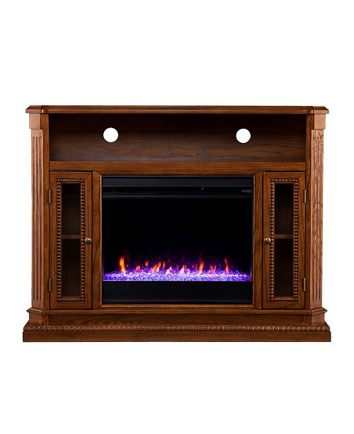Southern Enterprises Westmoreland Color Changing Media Fireplace