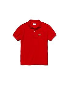 Big Boys Short Sleeve Classic Pique Polo Shirt
