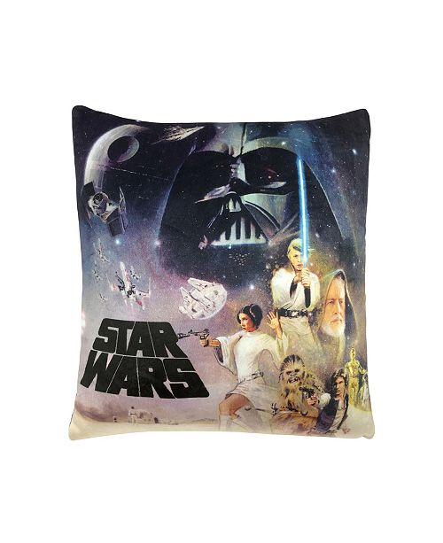 Jay Franco Star Wars 2-Pack Squishy Pillow Pair