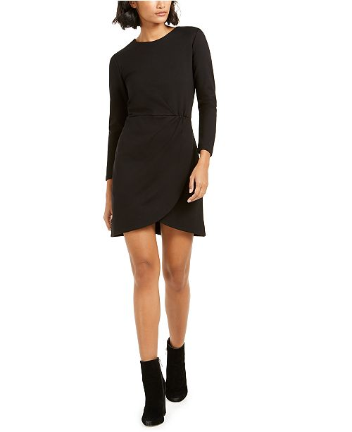 French Connection Lulu Faux-Wrap Dress