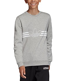 Big Boys Logo Outline French Terry Sweatshirt