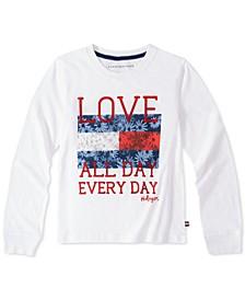 Big Girls Love All Day Cotton T-Shirt