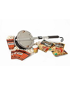 Wabash Valley Farms Open Fire Pop Outdoor Popcorn Popper Set