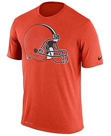 Men's Cleveland Browns Legend Logo Essential 3 T-Shirt