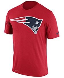 Men's New England Patriots Legend Logo Essential 3 T-Shirt