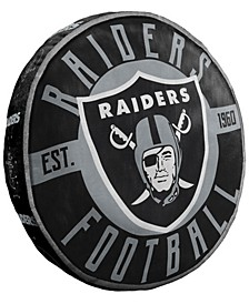 Oakland Raiders 15inch Cloud Pillow