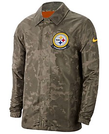 Men's Pittsburgh Steelers Salute to Service Light Weight Jacket
