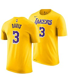 Men's Anthony Davis Los Angeles Lakers Icon Player T-Shirt