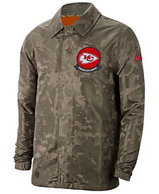 Men's Kansas City Chiefs Salute to Service Light Weight Jacket