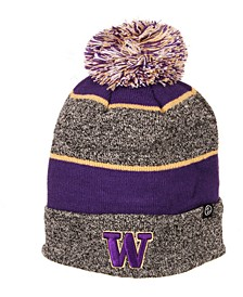 Washington Huskies Jackson Pom Knit Hat