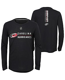 Big Boys Carolina Hurricanes Deliver Long Sleeve T-Shirt