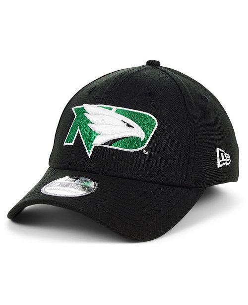 New Era North Dakota Fighting Hawks College Classic 39THIRTY Cap
