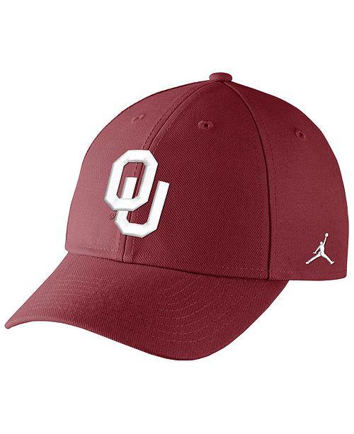 Jordan Big Boys Oklahoma Sooners Logo Adjustable Cap