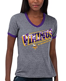 Women's Minnesota Vikings Touch Free Throw T-Shirt