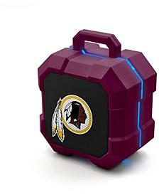Prime Brands Washington Redskins Shockbox LED Speaker