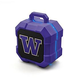 Prime Brands Washington Huskies Shockbox LED Speaker