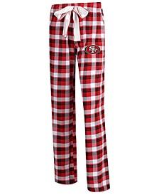 Women's San Francisco 49ers Piedmont Flannel Pajama Pants