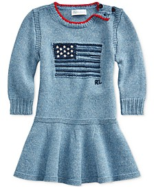 Baby Girls American Flag Dress