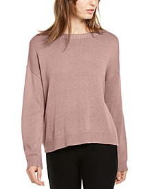 Round-Neck Sweater, Regular & Petite