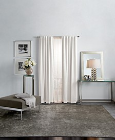 "Martha Stewart Park Avenue Metallic 95"" Backtab Curtain Panels"