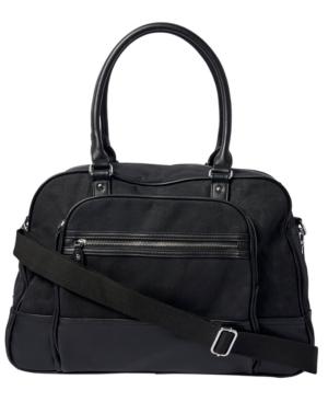 Urban Originals Overnight Bag In Black