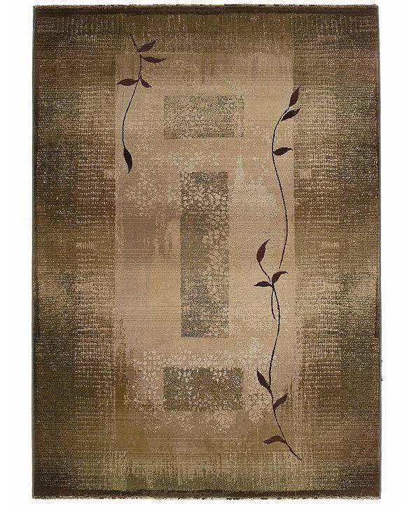 "Oriental Weavers Area Rug, Generations Shadow Vine 544G 5' 3"" x 7' 6"""
