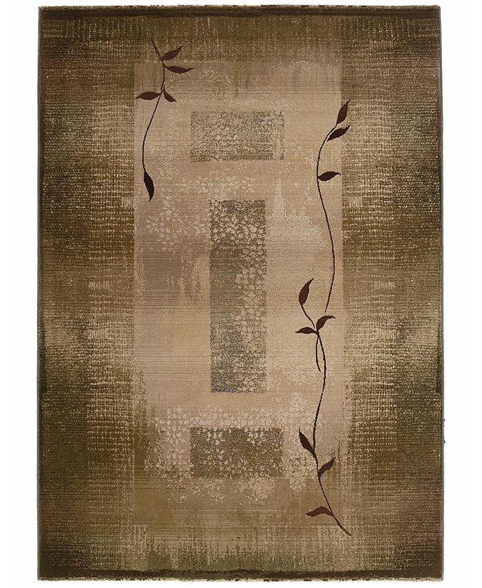 "Oriental Weavers - by  ""Generations"" Shadow Vine 544G Area Rug, 7' 10"" x 11'"