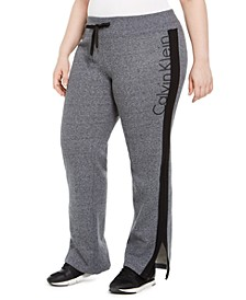 Plus Size Logo Print Sweatpants