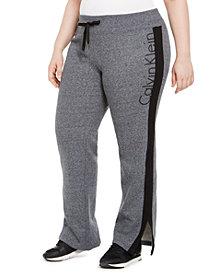 Calvin Klein Performance Plus Size Logo Print Sweatpants