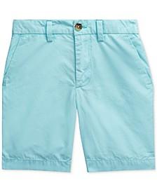 Toddler Boys Cotton Poplin Shorts
