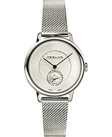 Women's Swiss Re-Balance T-1 Stainless Steel Bracelet Watch 36mm