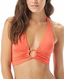 O-Ring Halter Bikini Top