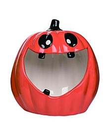 Dolomite Red Halloween Big Mouth Candy Bowl