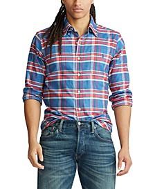 Men's Performance Flannel Long Sleeve Shirt