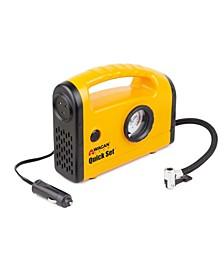 Wagan 12 Volt Quick Set Inflator Air Compressor