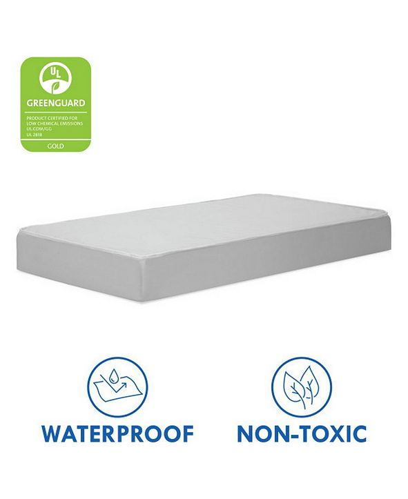 DaVinci Deluxe Coil Dual-Sided Standard Size Crib and Toddler Mattress, Non-Toxic and Dual Sided Firmness