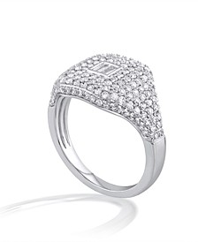Diamond (1 ct. t.w.) Ring in 14K White Gold