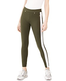 Side-Stripe Leggings, Regular & Petite