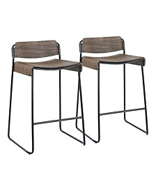 Dali Bar Stool (Set of 2)