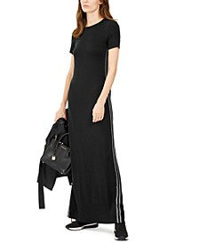 Side-Tape Maxi Dress