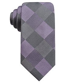 Men's Concord Slim Check Tie, Created For Macy's
